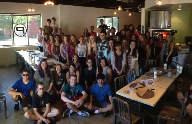 ASL fundraises at restaurant for library » Panther Prowler: the