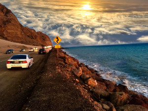 Photo of Pacific Coast Highway by Madison Hutchison, senior