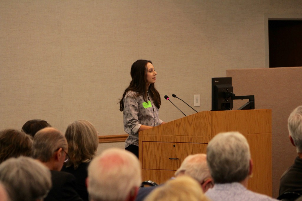 Thousand Oaks High School student Olivia Braheem voiced her opinions about the FAIR Act to her school board members and a large crowd of parents, teachers, community members, and students alike. She and several other TOHS students expressed their thoughts on upholding the FAIR Act, claiming that it must be implemented to ensure an inclusive curriculum.