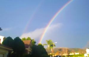 double rainbow vibrance