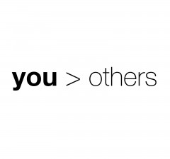 put yourself before others